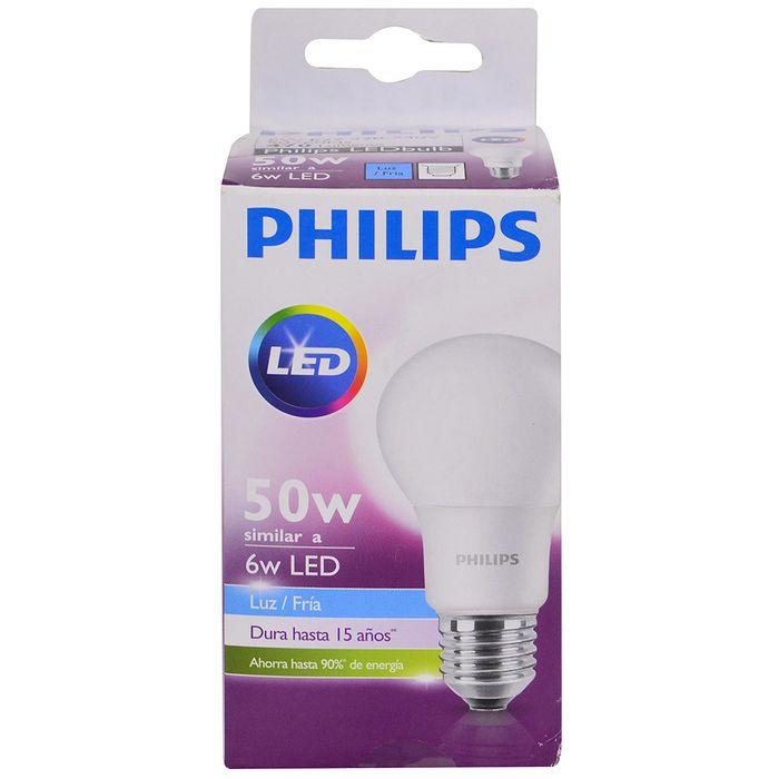 Lampara-PHILIPS-led-bulb-6-50w-E27