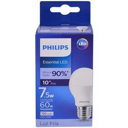 Lampara-PHILIPS-essensial-led-bulb-7.5w-E27-6500k