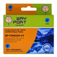 Cartucho-way-port-para-Epson-Mod.-XP231-t296220-13ml-cy-xl