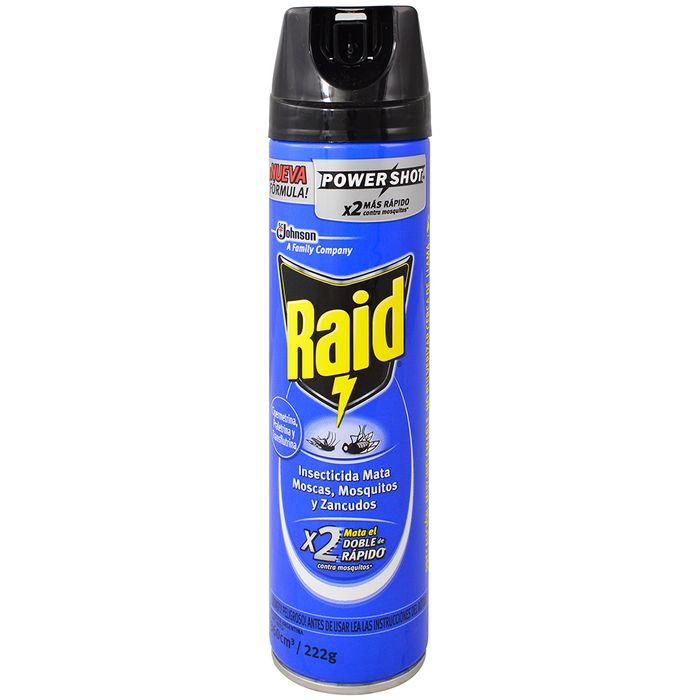 Insecticida-Raid-mata-moscas-y-mosquitos-azul-360-cc