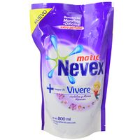Detergente-liquido-Nevex-matic-vivere-800-ml