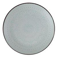 Plato-llano-26cm-ceramica-decorado-celeste
