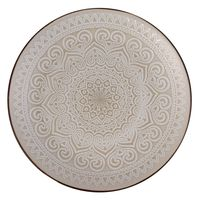 Plato-postre-197cm-ceramica-decorado-beige