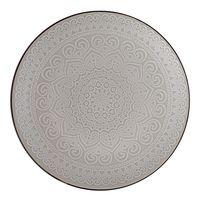 Plato-llano-26cm-ceramica-decorado-gris