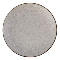 Plato-postre-197cm-ceramica-decorado-gris
