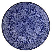 Plato-llano-26cm-ceramica-decorado-azul