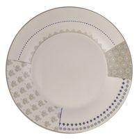 Plato-llano-267cm-ceramica-blanco-decorado