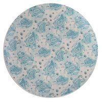 Plato-llano-267cm-ceramica-decorado-celeste