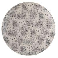 Plato-llano-263cm-ceramica-blanco-decorado-gris