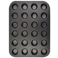 Molde-muffin-x24-38.5x26x2cm-gris-antiadherente