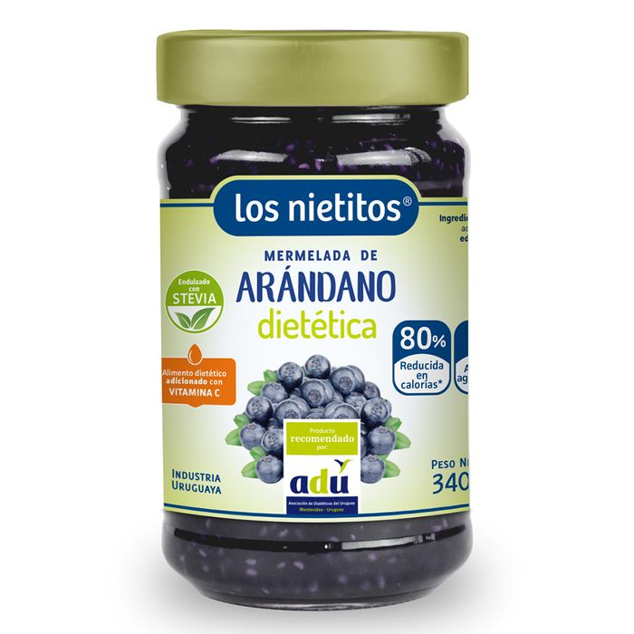 Mermelada-Arandanos-cero-Los-Nietitos-340g