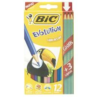 Lapices-colores-Bic-evolution-12un