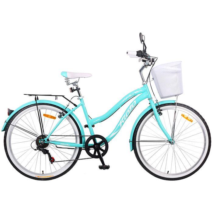 Bicicleta-dama-Kioto-verde-agua-rodado-26--6-velocidades