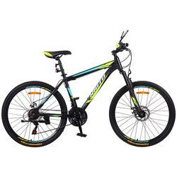 Bicicleta-hombre-Kioto-negra-azul-rodado-26-21-velocidades