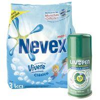 Pack-detergente-Nevex-3-kg---repelente-Livopen-133-g