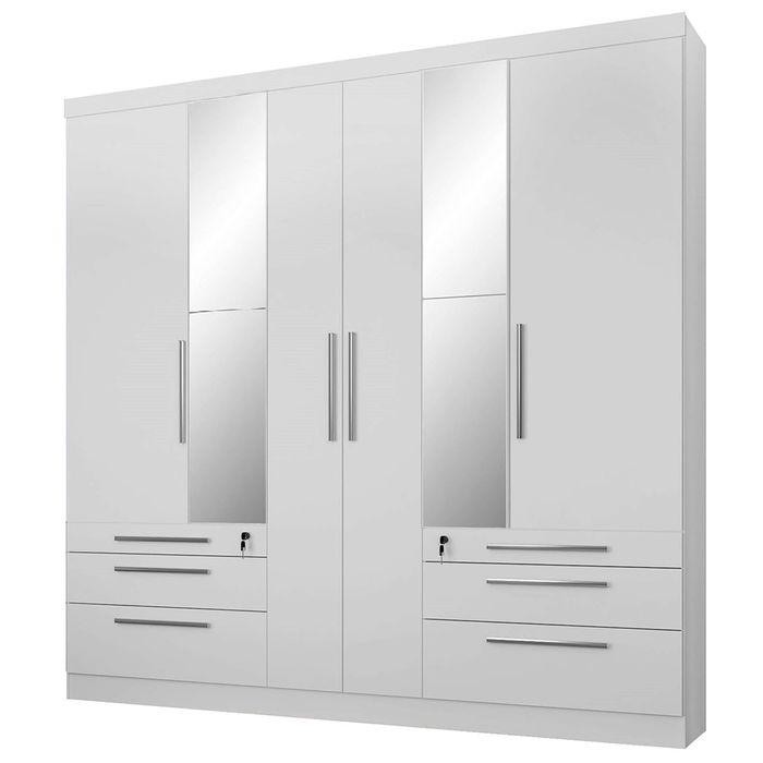 -Placard-6-puertas-con-6-cajones---espejos-blanco-207x215x47cm