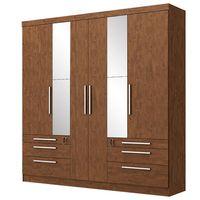 Placard-6-puertas-6-cajones-con-llave---espejos-207x215x47cm
