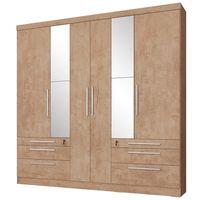 -Placard-6-puertas-6-cajones-con-llave---espejos-207x215x47cm