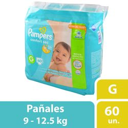 Pañal-PAMPERS-Confort-Sec-Forte-Bag-G-x-60-un.