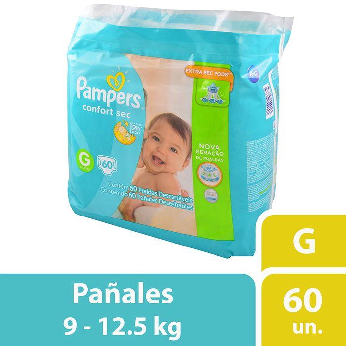 Pañal-PAMPERS-Confort-Sec-Forte-Bag-G-x-60-un.
