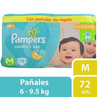 Pañales-Pampers-confort-sec-forte-bag-M-72-un.