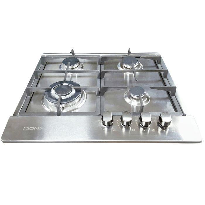 Anafe-Xion-acero-inoxidable-Mod.-XI-GH4X-4-gas
