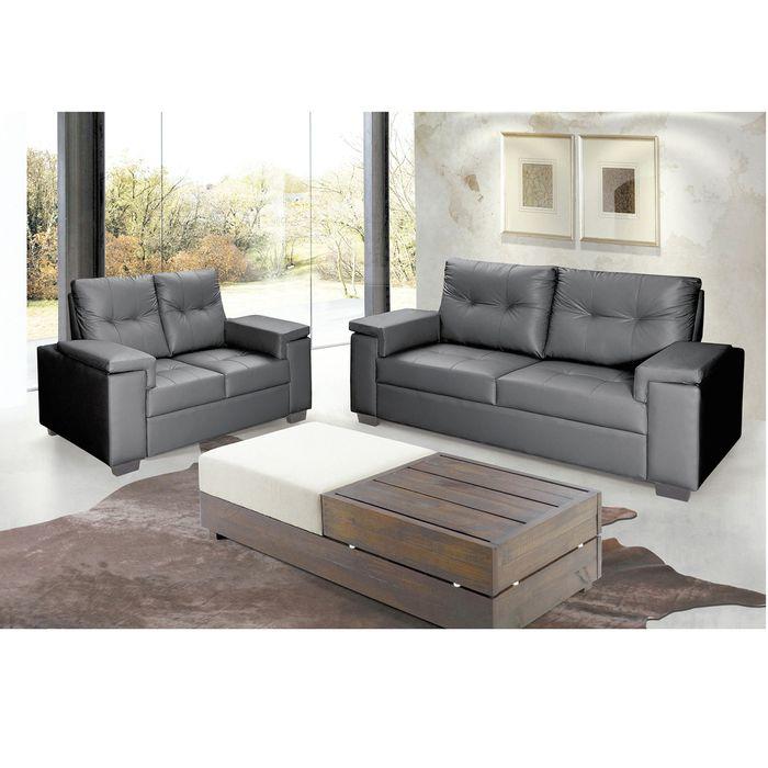 Conjunto-de-sofa-3-2-en-pu-negro-157-205x100x93-cm