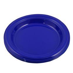 Plato-23-cm-Darnel-azul-vivo-12-un.