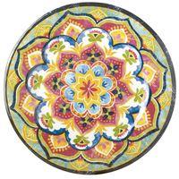 Plato-llano-melamina-mandala-rosa-28-x-28-x-2-cm