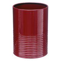 Porta-utensilios-d11xh15cm-metal-rojo