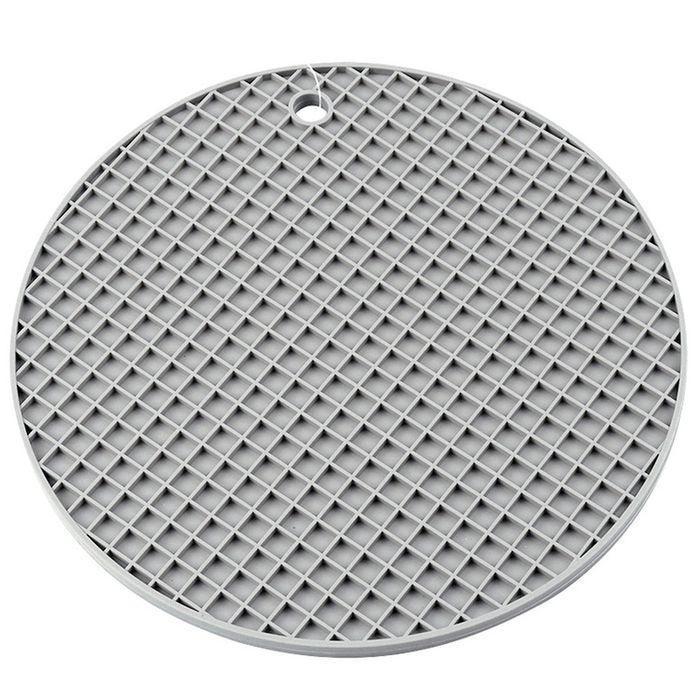 Posafuente-silicona-gris-d20.2cm