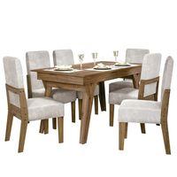 Juego-de-comedor-mesa---6-sillas-tapizadas