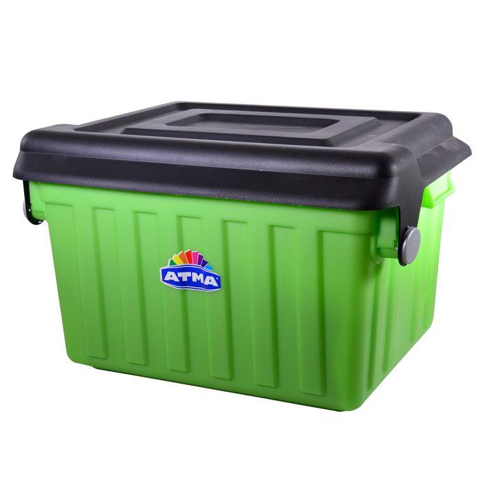 Caja-Great-65-L-cuerpo-verde-tapa-negra-58x49x37-cm