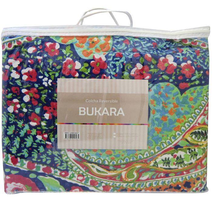 Cubrecama-king-size-bukara-220x240-flores-turquesa