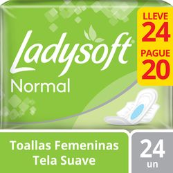 Toalla-Femenina-Ladysoft-Normal-Alas-24-un.