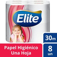 Papel-higienico-Elite-hoja-simple-pq.-8-un.