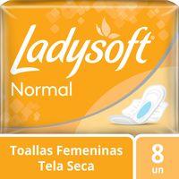 Toalla-femenina-Ladysoft-normal-con-alas-ultra-seca-8-un.