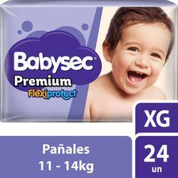 Pañal-Babysec-premium-XG-24-un.