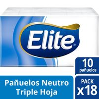 Pañuelo-facial-Elite-triple-hoja-pocket-18-un.