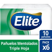 pañuelo-Elite-Fresh-Mento.Pack-x-6-60-un.