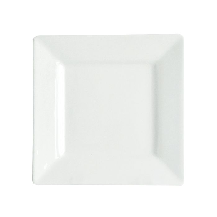 Plato-llano-cuadrado-25.5x25.5cm-blanco
