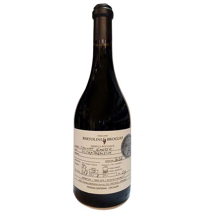 Vino-tinto-Bertolini---Broglio-tannat-exotic-roble-americano