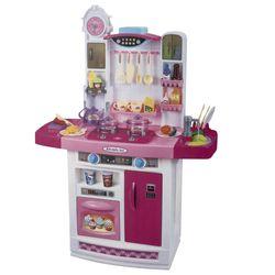 Cocina-de-pie-con-heladera-accesorios-y-funciona-con-agua
