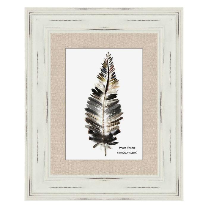 Portarretrato-con-marco-en-madera-y-lino-13X18-cm