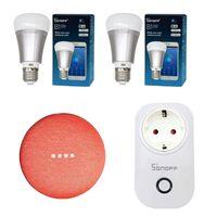 Kit-smart-Sonoff-toma-lampara--google-home-mini