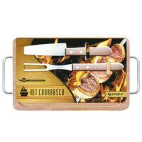 Set-tabla-35x21cm-madera-con-2-cubiertos-acero-inoxidable