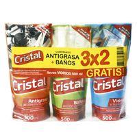 Pack-3x2-limpiador-liquido-Cristal-500-cc