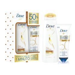 Pack-Dove-shampoo-oleo-400-ml---super-acondicionador