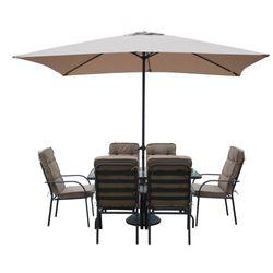 Juego-de-jardin-6-sillas-mesa-sombrilla-base-de-sombrilla