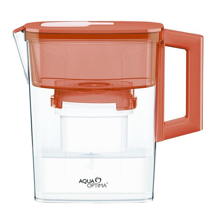 Jarra-con-filtro-2.1L-compact-roja
